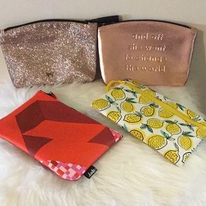 X4 little make- up pouches or bags